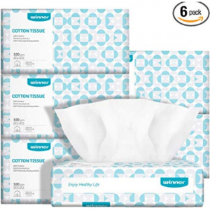 Dry Baby Wipes Winner Soft Dry Wipes 6 pack for $24.74 @Amazon