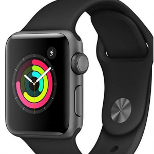 Extra 20% off Apple Watch Series 3 (GPS, 38mm) - Space Gray (Used - Good) @Amazon