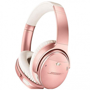 $140 off Bose QuietComfort 35 II Wireless Noise Cancelling Headphones, Rose Gold @Adorama