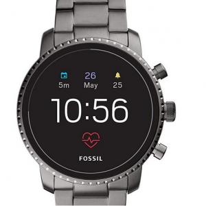 Amazon - 第四代 Fossil Explorist HR 智能手表 不锈钢款 多色可选