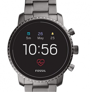 Up to 55% off Fossil Men's Gen 4 Explorist HR Stainless Steel Touchscreen Smartwatch @Amazon