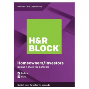 H&R BLOCK Tax Software @ Newegg