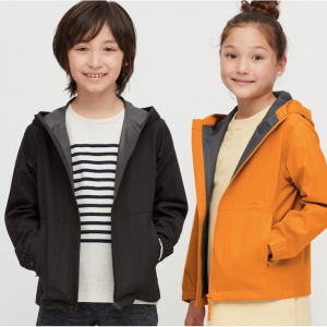Kids Blocktech Parka @ Uniqlo