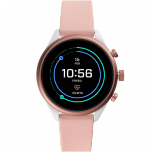 Fossil Women's Sport Metal and Silicone Touchscreen Smartwatch @ Amazon