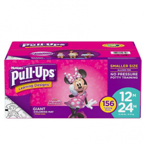 $4 OFF Huggies Pull-Ups Training Pants for Girls