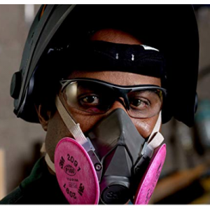 3M 半面罩可重复使用呼吸器 @ Amazon
