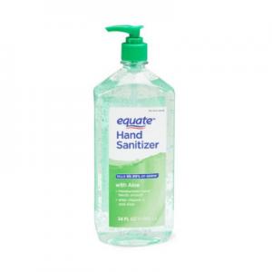 Equate Hand Sanitizer with Aloe, 34 fl oz @ Walmart