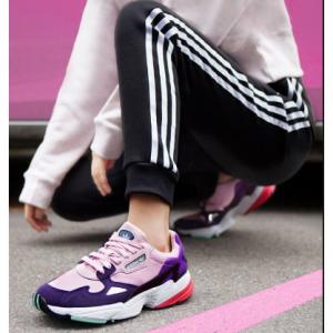 【eBay】楊冪同款 adidas Originals Falcon 女款粉紫運動鞋熱賣,多色碼全