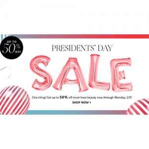 President's Day Beauty Sale (Shiseido, Huda Beauty, KVD, Benefit, Natasha Denona & More)@ Sephora