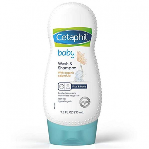 Cetaphil Baby Wash & Shampoo with Organic Calendula, 7.8 Fl Oz @ Amazon