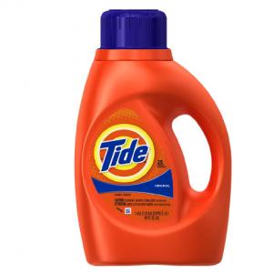 Up to 70% off Tide Liquid Detergent Original @Walgreens