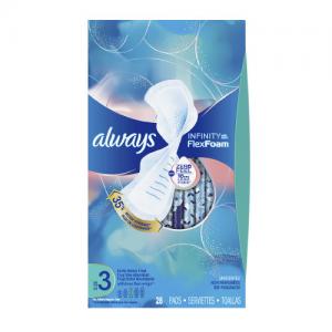 Walgreens Always卫生巾 Tampax卫生棉条