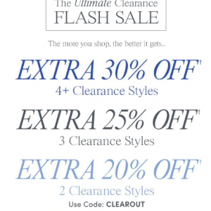 Clothing & Accessories Clearance @ Ann Taylor Factory