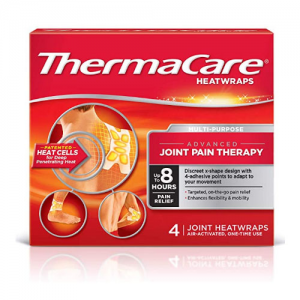 ThermaCare 發熱止痛貼 4片裝