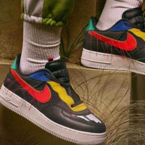 Foot Locker官网 Nike Air Force1 AF1 Low 黑人月系列男款空军一号热卖