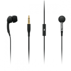 Lenovo - Lenovo 100 3.5mm 带Mic 入耳式耳机 配多尺寸耳塞