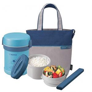Zojirushi SL-MEE07AB Ms. Bento Stainless Lunch Jar, Aqua Blue, One size @ Amazon