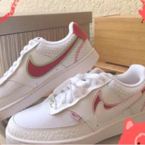 Nike Women's Court Vision Low Sneaker @ Famous Footwear