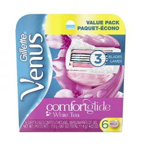 Gillette Venus Women's Moisture Bar Razor Refills @ Amazon.com