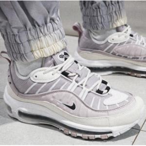 耐克中国官网 Nike耐克 Air Max 98女款烟雾紫运动鞋热卖