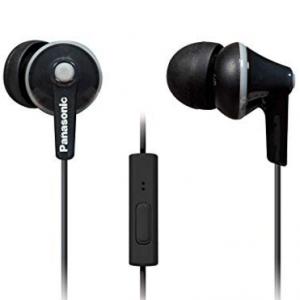 60% OFF Panasonic ErgoFit In-Ear Earbud Headphones @Amazon