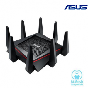 $55 off ASUS AC5300 Wi-Fi Tri-band Gigabit Wireless Router with 4x4 MU-MIMO @Newegg