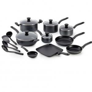 T-Fal® Wearever 18件套鍋具大促熱賣 @ Boscovs