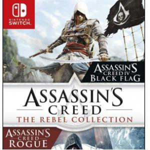 Amazon -《刺客信條 黑旗+叛變》Switch 實體版遊戲 新作降價