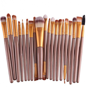 KOLIGHT Set of 20pcs Cosmetic Makeup Brushes Set @ Amazon