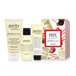50% Off philosophy 3-Pc. Pure Beginnings Purity Gift Set @ Macy's