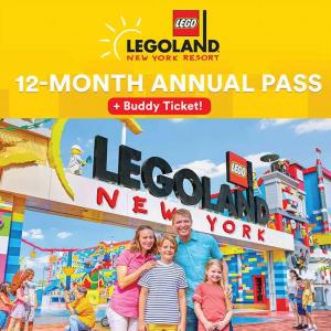 LEGOLAND New York Resort Season Pass + Buddy Ticket, eVoucher @ Costco