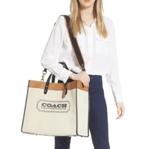 Coach Field Logo Canvas Tote @ Nordstrom