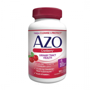 AZO Cranberry Urinary Tract Health Dietary Supplement @ Amazon.com