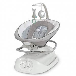Graco Sense2Soothe Baby Swing with Cry Detection Technology, Sailor @ Amazon