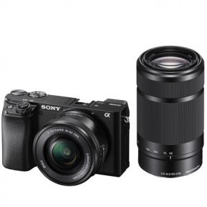 $150 off + extra savings on Sony Alpha a6100 APS-C + lens @B&H