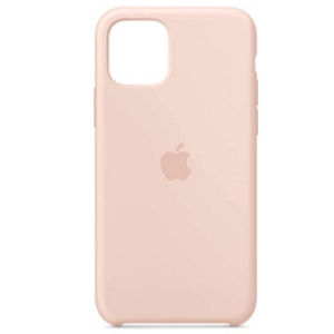 $9.01 off Apple Silicone Case (for iPhone 11 Pro) - Pink Sand @Amazon
