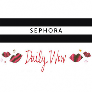 Sephora每日惊喜促销 含Shiseido, Clinique, Lancome, Urban Decay, Benefit等