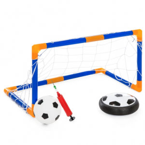 Light Up Hover Disk Soccer Set w/ Air Power Soccer, Pump, Ball, Goal @ Best Choice Products