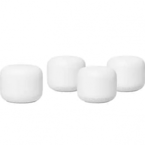 Costco - 史低價:Google Nest WiFi 4個裝 ,立減$100