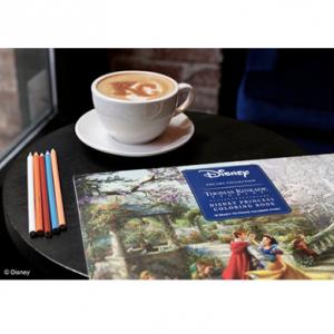 Disney Dreams Collection Thomas Kinkade Studios Disney Princess Coloring Poster Book @Amazon