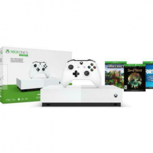 eBay - Xbox One S 1TB 遊戲手柄 + 3款熱門遊戲,直降$110