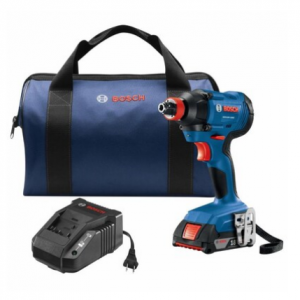 Bosch Freak 18-Volt 1/4-in; 1/2-in Cordless Impact Driver (1-Battery Included) @ Lowes