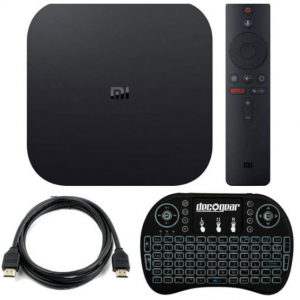 $10 off Xiaomi Mi Box S 4K Android TV Streaming Media Player with Keyboard @Buydig