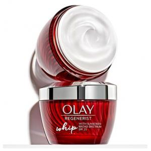 $8 OFF Olay Regenerist Whip Face Moisturizer, Primer and SPF 25 (1.7oz. ea., 2 pk.) @Sam's Club