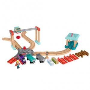 Thomas & Friends Wood Lift & Load Cargo Train Track Set @ Walmart