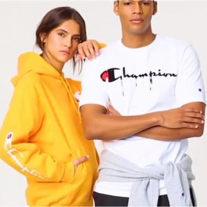 Champion USA 全場正價男女潮流運動T恤、衛衣、運動鞋等促銷