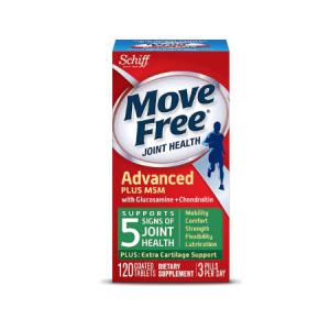 Schiff Move Free® 維骨力MSM款 綠瓶 120粒 熱賣