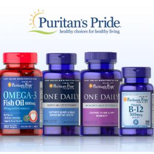Puritan's Pride 保健品大促 收VC、增強免疫力