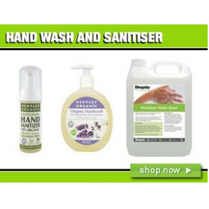 Hand Wash and Sanitiser Products For COVID-19 @ Slingsby