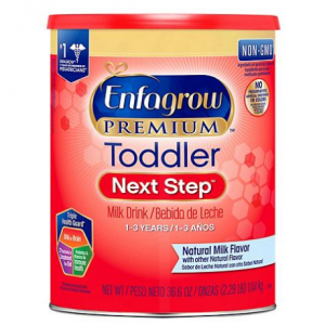Enfagrow Premium Toddler Next Step Milk Drink Powder, Natural Milk Flavor (36.6 oz.) @ Sam's Club